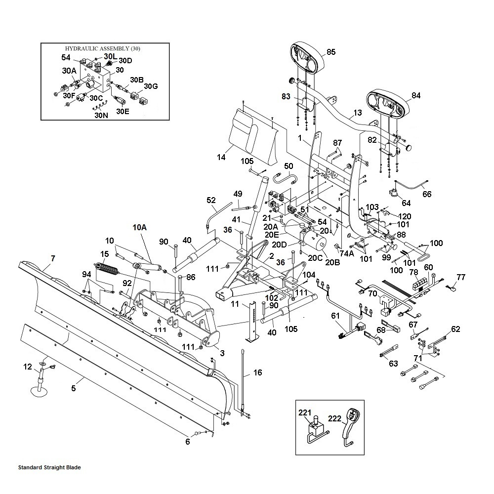 snowdogg plows wiring diagram hiniker plow wiring diagram